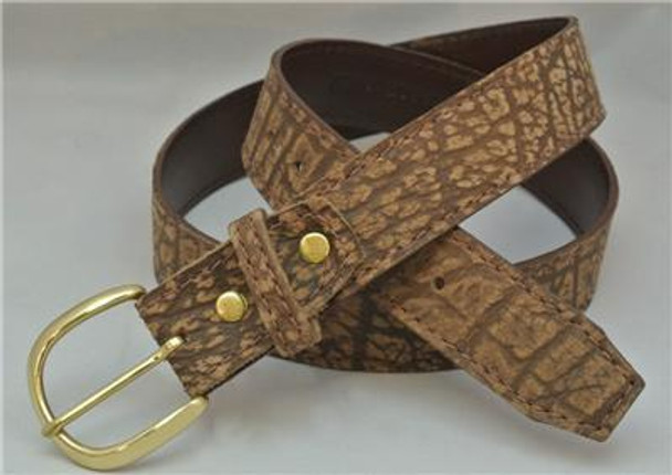 Genuine Cape Buffalo Hide Belt