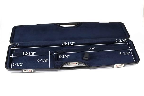 Negrini OU/SXS Ultra-light TURTLE Sporting Shotgun Case – 1687CRV/5585