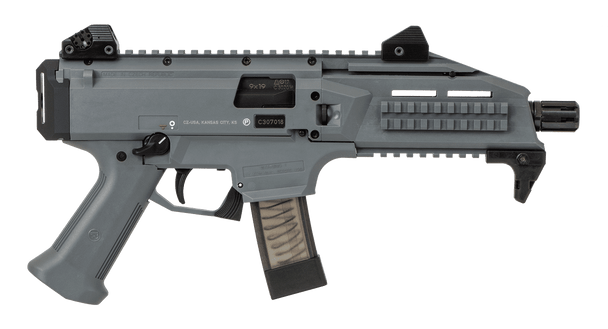 CZ Scorpion Evo 3 S1 Pistol BATTLESHIP GREY 9MM - 91356