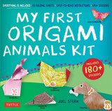 My First Origami Animals Kit: Everything is Included: 60 Folding Sheets, Easy-to-Read Instructions, 180+ Stickers