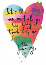 The Journey Friendship Card