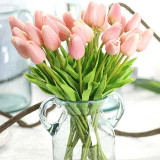 """Mini Tulip Stem - Real Touch, 10.5"""""""