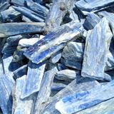 Blue Kyanite Crystal: Communication + Throat Chakra