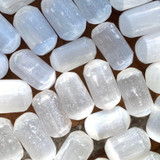 Selenite Crystal: Calming + Cleansing + Protection + Crown Chakra