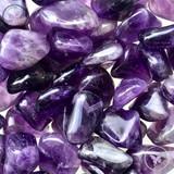 Amethyst Crystal: Protective + Healing + Crown Chakra