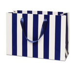 Navy Stripe Euro Tote, Gift Bag