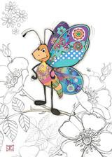 Bertie Butterfly Card