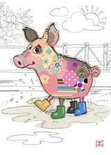 Pablo Pig Card