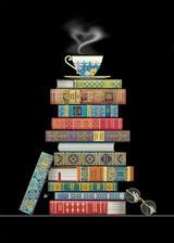 Book Pile Card