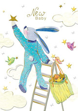 Star New Baby Card