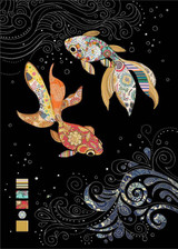 Two FanTail Fish Card