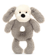 Smudge Puppy Ring Rattle