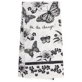 Butterfly Boho Tea Towel