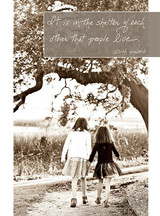 Sister Stroll Friendship Card