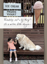 Ice Cream Date Friendship Card