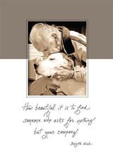 Grandpa's Love Sympathy Card