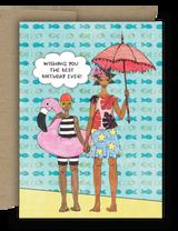 Birthday Beach Buddies Card