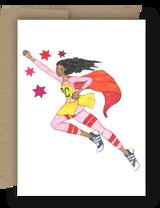Super Crayon Card