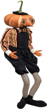 Gilbert Pumpkin Head Figure by Joe Spencer