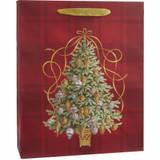Golden Tannenbaum, Large Tote Bag