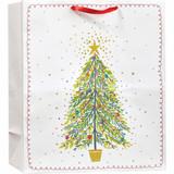 Christmas Tree Magic, Jumbo Tote Bag