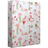 Festive Vacay Flamingoes, Jumbo Wrap Roll - 8ft