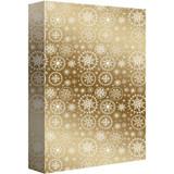 Glistening Snowflakes, Jumbo Wrap Roll - 8ft