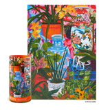 Tropical Vases Floral Still Life - 1000 Piece Jigsaw Puzzle