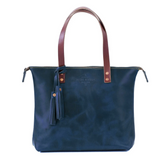 Leather Zipper Tote from Lifetime Leather