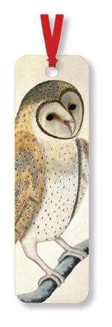 "Owl, Watercolor ""Greater Pechaw"" - Bookmark"