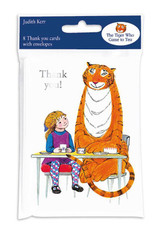 The Tiger Who Came to Tea Thank You Cards (Pack of 8)