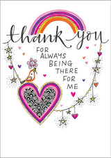 Being Thank You Card