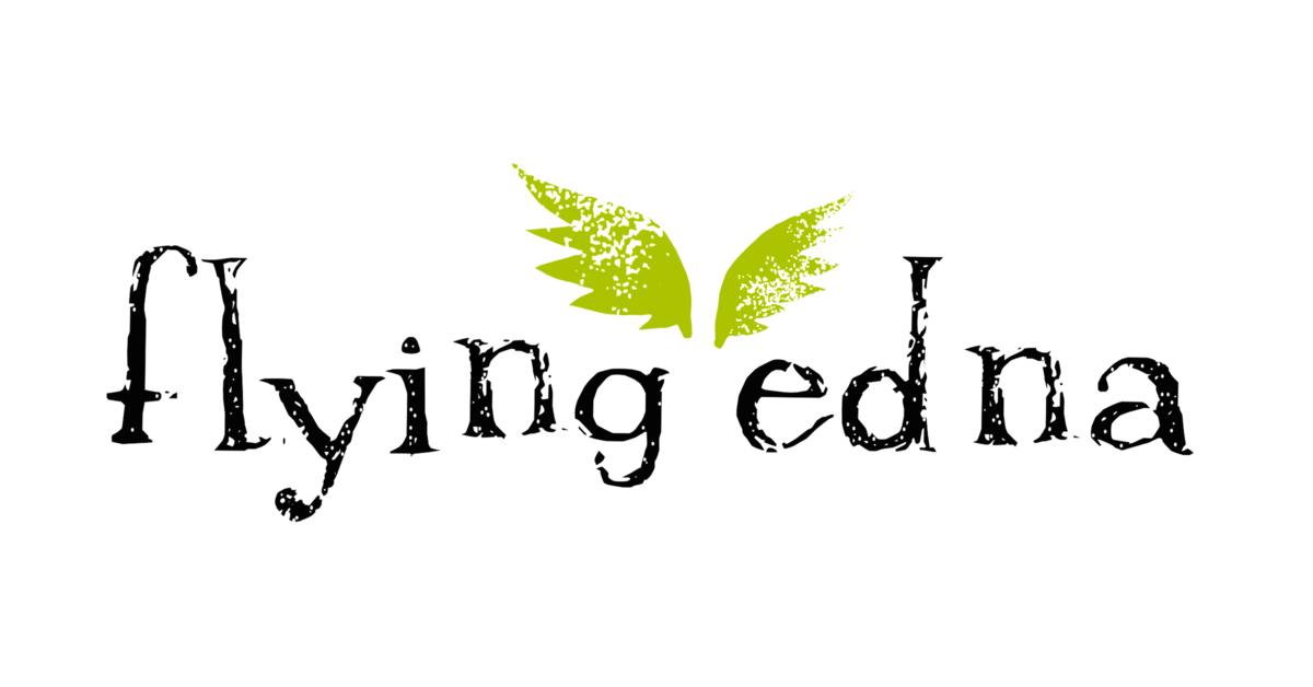 Flying Edna/Brian Andreas