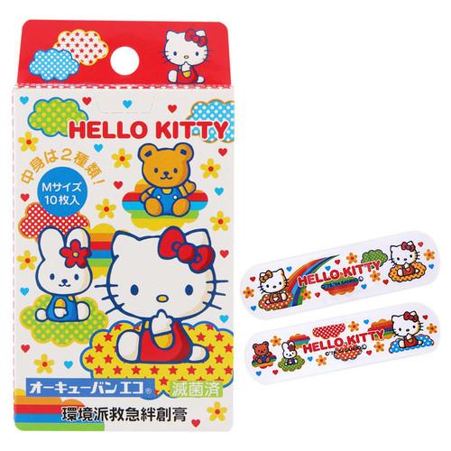 OQ Ban Eco Hello Kitty B | 吉蒂貓 環境派救急 膠布 10 枚