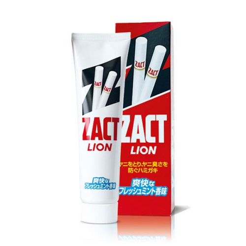 LION ZACT Stain Removing Toothpaste for Smoker | 獅王 ZACT 強效去煙漬牙垢防口臭牙膏 150g