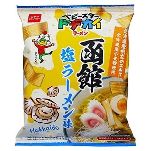 OYATSU Dodekai Ramen Hakodate Ramen Flavor | 童星 闊條麵 函館鹽拉麵味 66G