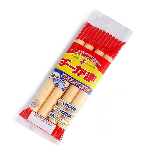 TOKYO MARUZEN Cheese In Kamaboko Fish Meat Sausage | 東京善字牌 芝士魚肉大腸 4 pcs