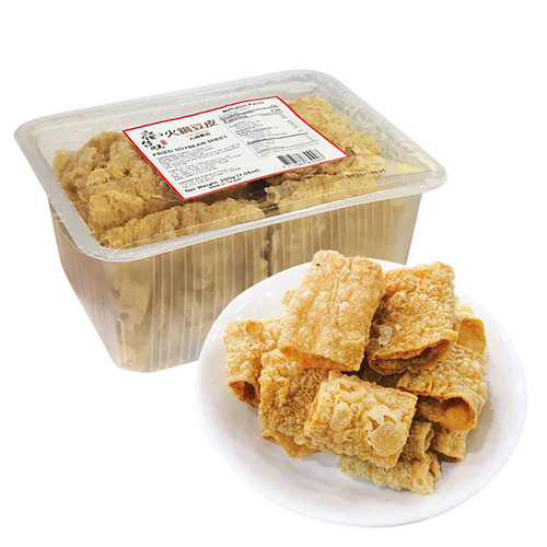 Tai Wan Fried Soybean Sheet| 瘋台味-火鍋豆皮(半切) 200g