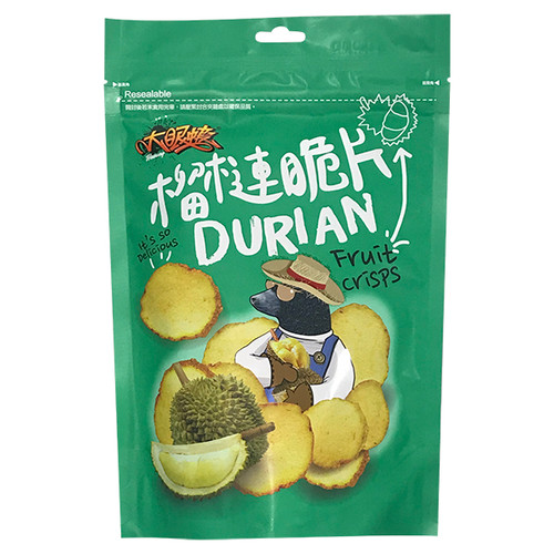 Lobster with Big Eyes - Durian Chips  | 大眼蝦 - 榴槤脆片 70g