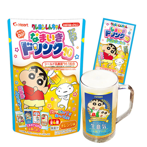 Heart ShinChan-Namaiki Drink DIY Kit | 臘筆小生自製飲料第 10 彈 49g