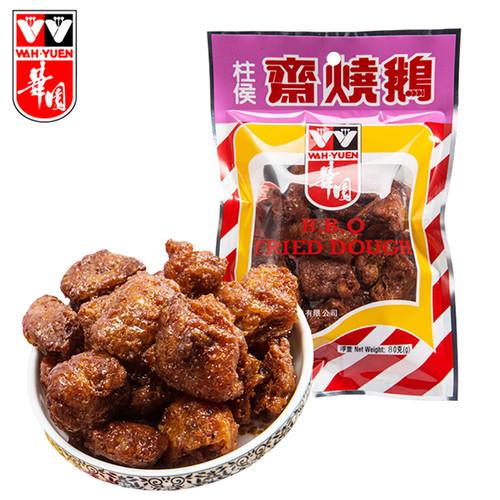 WAHYUEN - Fried Dough BBQ Flavor  華園 柱侯齋燒鵝 【40G / 80G】