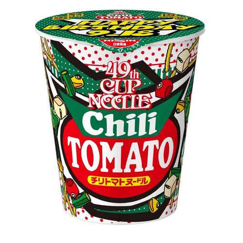 NISSIN Cup Noodles (JP 49th Annual Special) Chili Tomato Flavor   日清杯麵 辣番茄味 76g