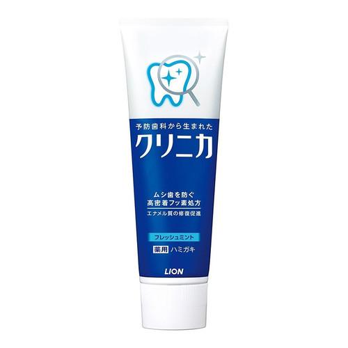 LION CLINICA Toothpaste Mint 獅王 - CLINICA分解牙垢防口臭牙膏 新鮮薄荷 (孕婦可用) 130g