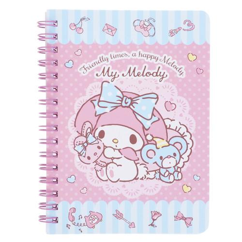 SANRIO Notebook A6 My Melody 線圈筆記簿 A6