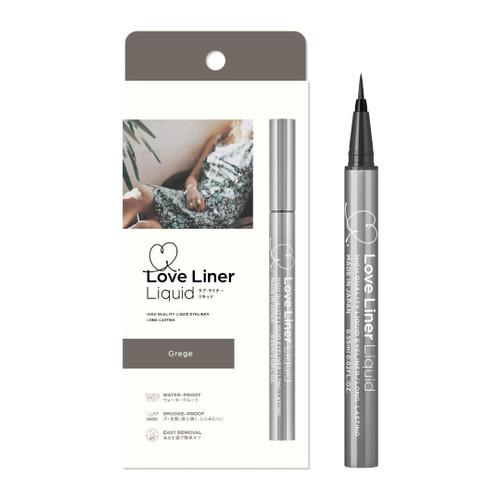 MSH Love Liner Liquid Waterproof (Grege) 隨心所欲極細防水防暈染速干眼線液筆 【棕灰色】