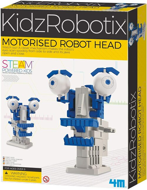 Motorised Robotic Head