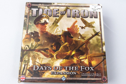 Tide of Iron: Days of the Fox - Consignment