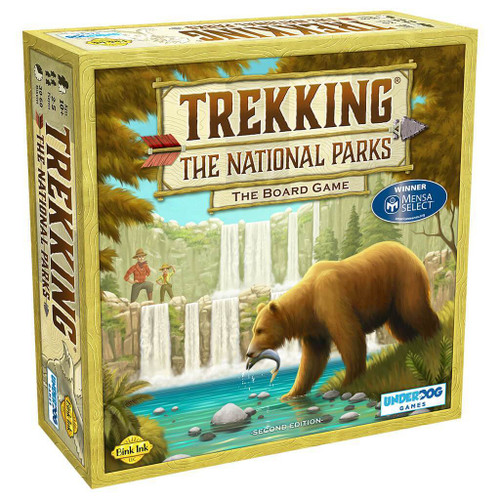 Trekking the National Parks (2nd Edition) Board Game