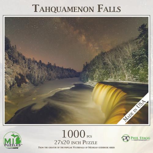 Tahquamenon Falls With Milky Way