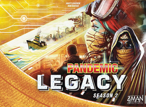Pandemic: Legacy - Season 2 (Yellow)